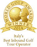 italys best inbound golf tour operator 2014 winner shield gold 128