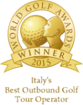 italys best outbound golf tour operator 2015 winner shield gold 128